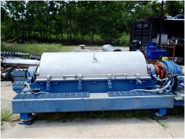 (2) Bird 3700 (24 x 72) tricanter centrifuges, 316L SS.