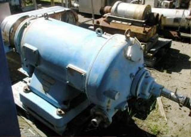 Westfalia SDA 360 sanitary decanter centrifuge, 316SS.