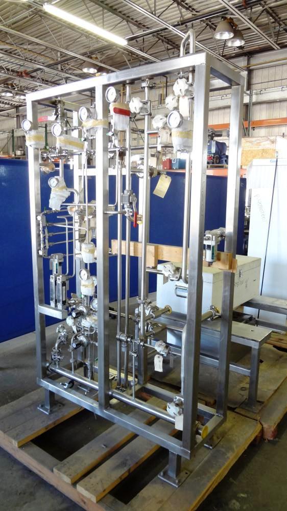Sharples SP-725 Super helix clarifier centrifuge, 316/317SS.