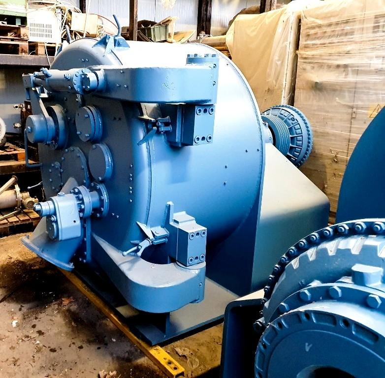 Krauss-Maffei HZ 125/2.5 peeler centrifuge, 1.4571 SS.
