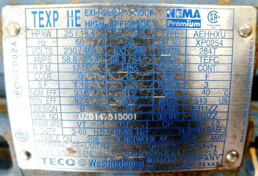 Swaco 518 XP oilfield decanter centrifuge, 316SS.