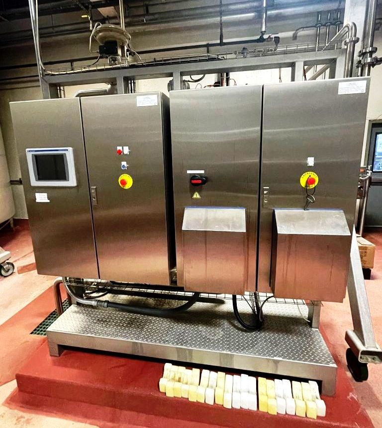 Alfa-Laval BREW 350 hermetic beer clarifier module, 316SS.