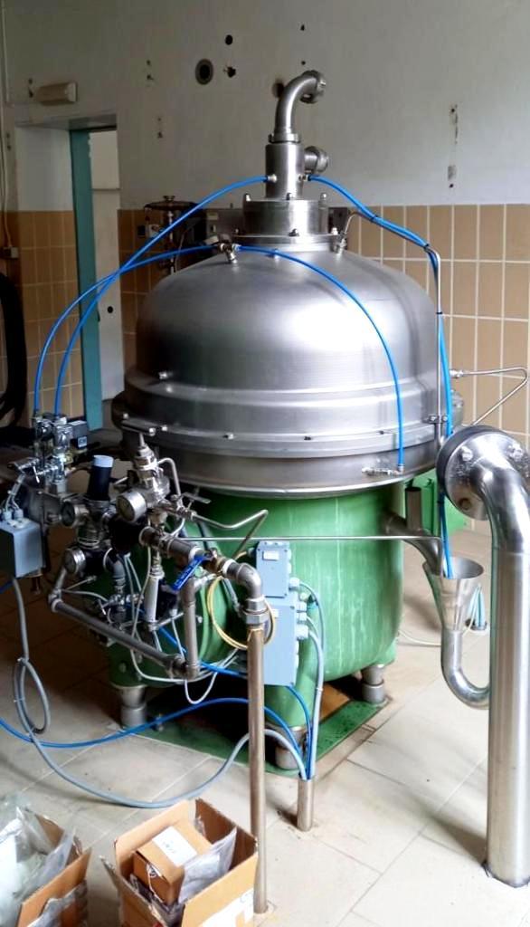 Westfalia CRA 160-96-076 hermetic super-clarifier, SS.