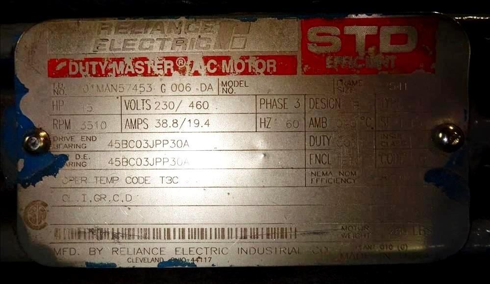 Sharples PM-35,000 Super-D-Canter centrifuge, 316SS.
