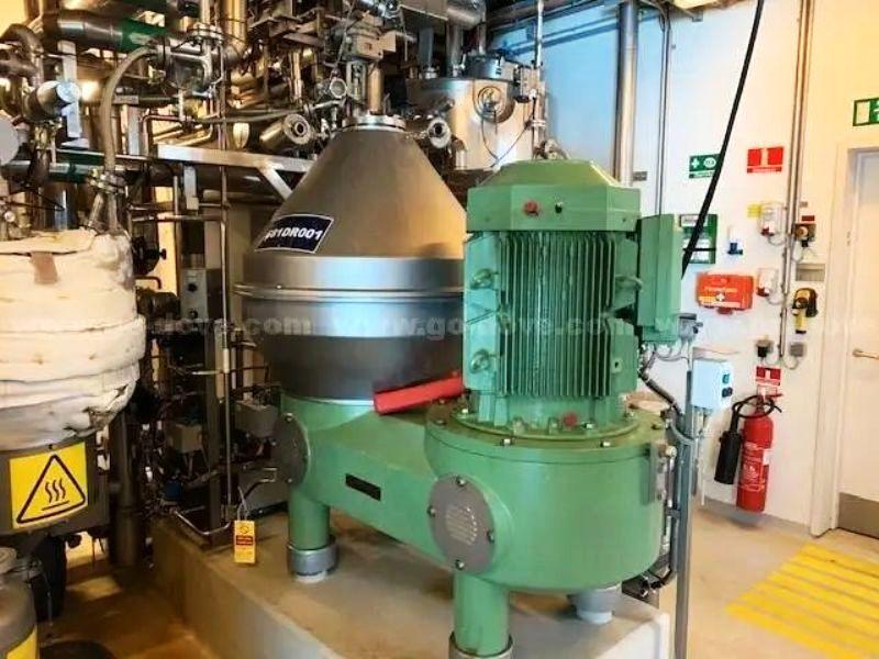 (2) Westfalia SC 95-01-177 veg oil separators, 316SS.