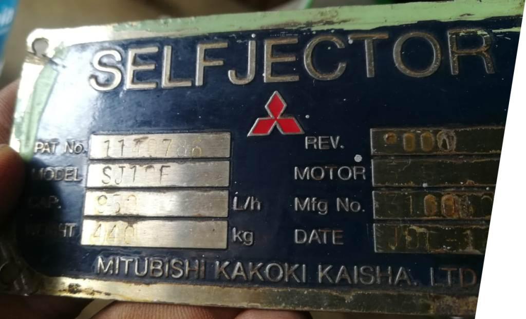 Mitsubishi SJ-10F self-cleaning oil purifier, SS bowl.