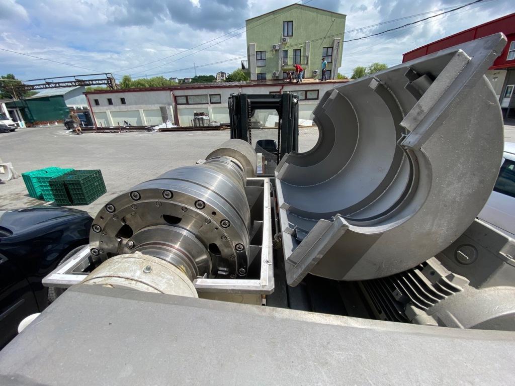 SNPO OGSh-321K-01 decanter centrifuge, SS.