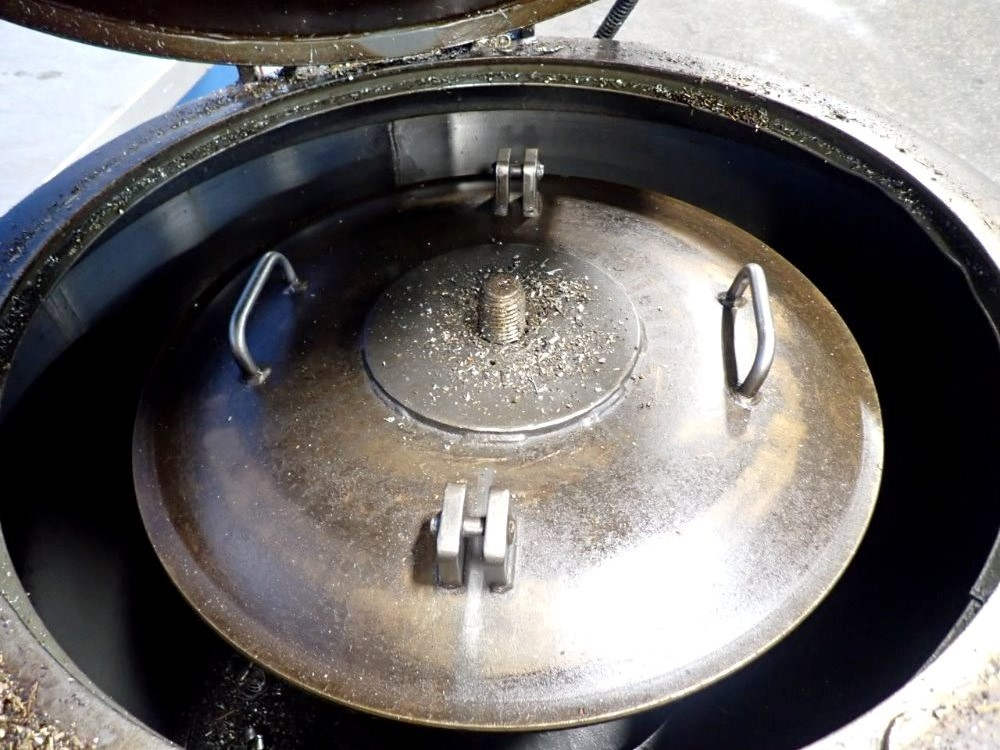 Barrett 401-E spindle post chip spinner oil extractor.