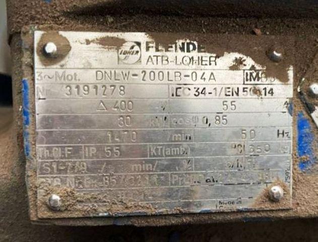 Krauss-Maffei HZ 1000 Ph peeler centrifuge, 316L SS.