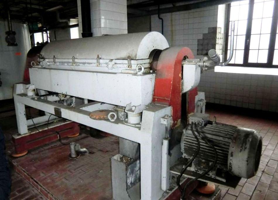 Spomasz Wronki AWP 35.1-4.2 decanter centrifuge, 316SS.