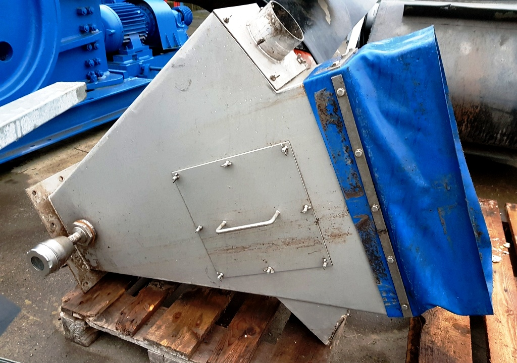 Flottweg Z4D-4/454 decanter centrifuge, 316SS.
