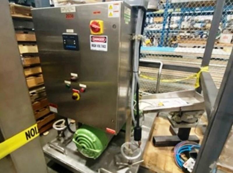 Westfalia MSA 14-06-076 clarifier centrifuge, 316SS.
