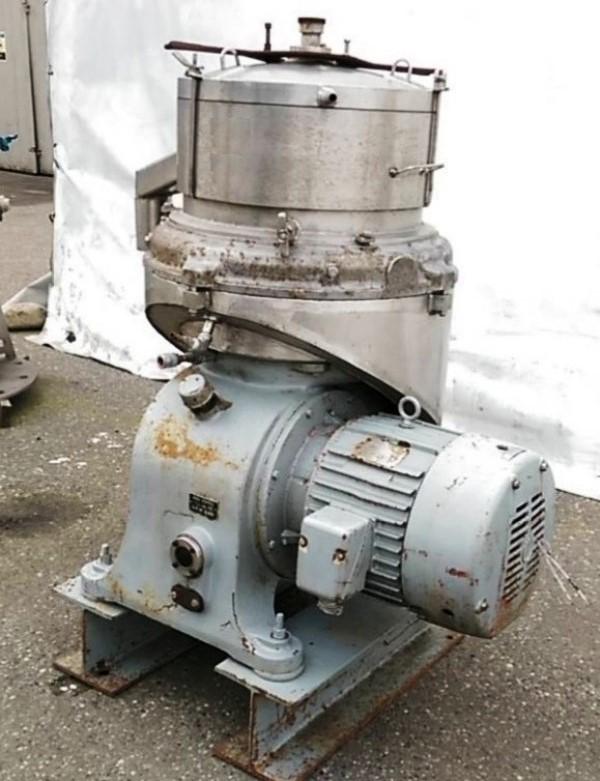 Sharples DV-2 Autojector centrifuge, SS.