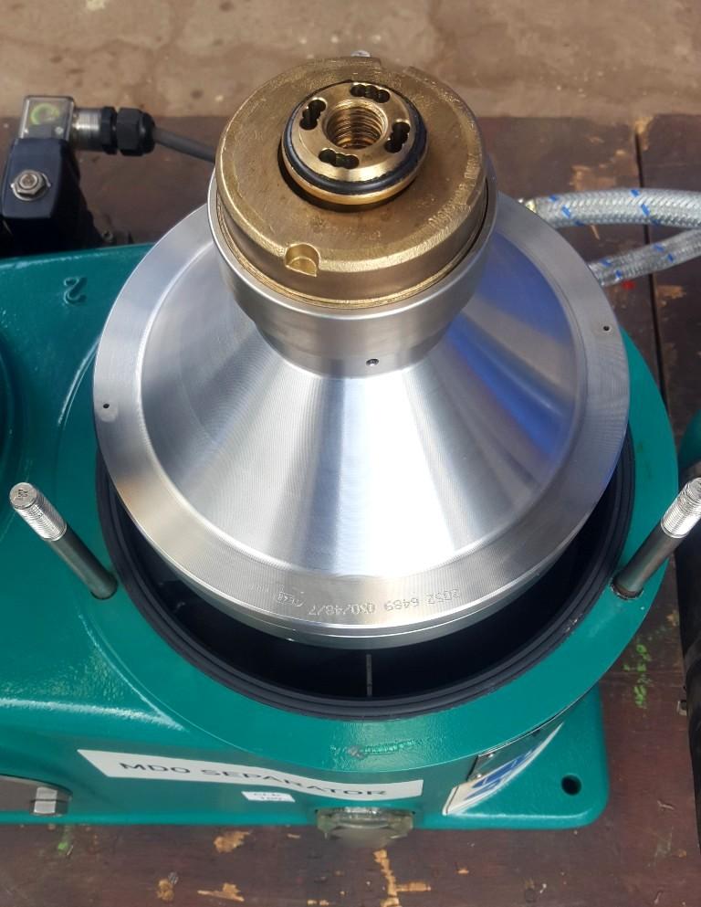 NEW: Westfalia OSD 2-02-137 oil purifier, SS.
