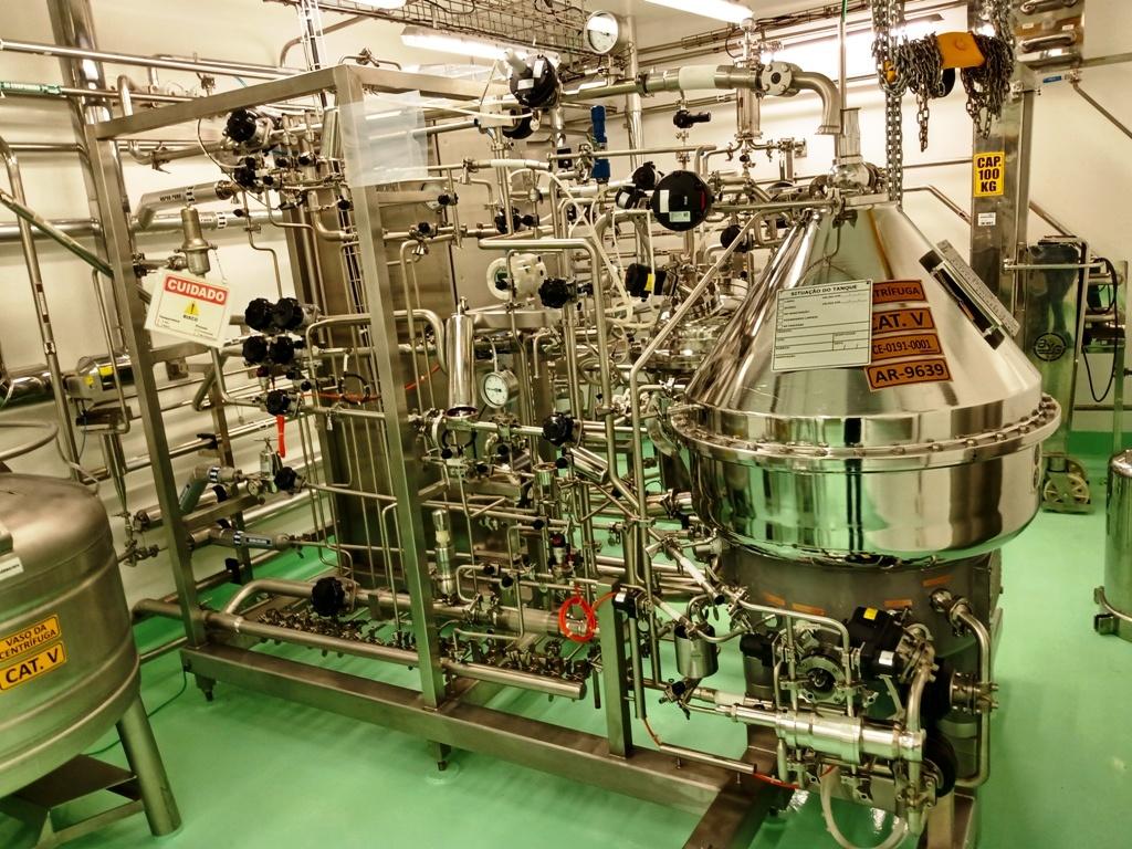 Westfalia CSE 80-06-477 biotech clarifier module.