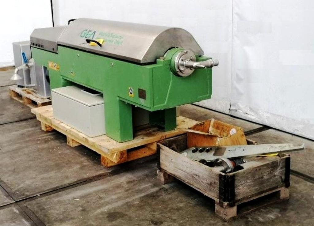 Westfalia AD 0509 decanter centrifuge, 1.4462 SS.