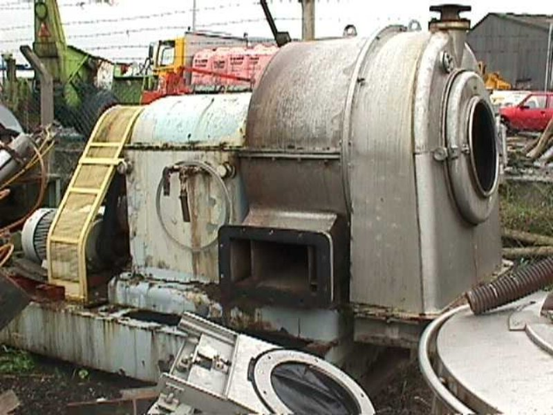 (2) Krauss-Maffei SZ 80 pusher centrifuges, 316SS.