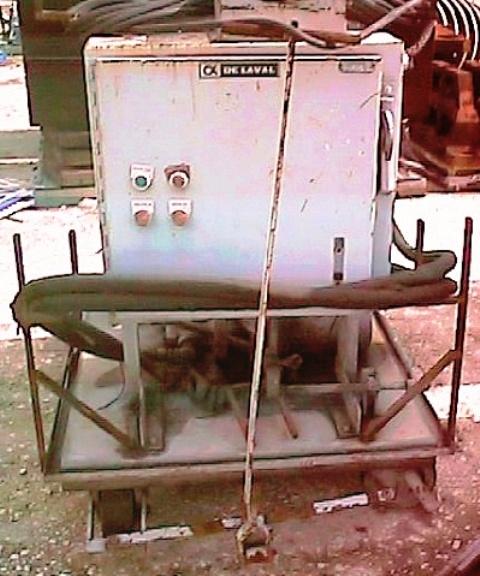 De Laval MAB 207S-29-60 oil purifier, NO BOWL.