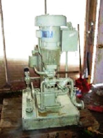 Sharples AE-12VH vaportite oil purifier, 316SS.