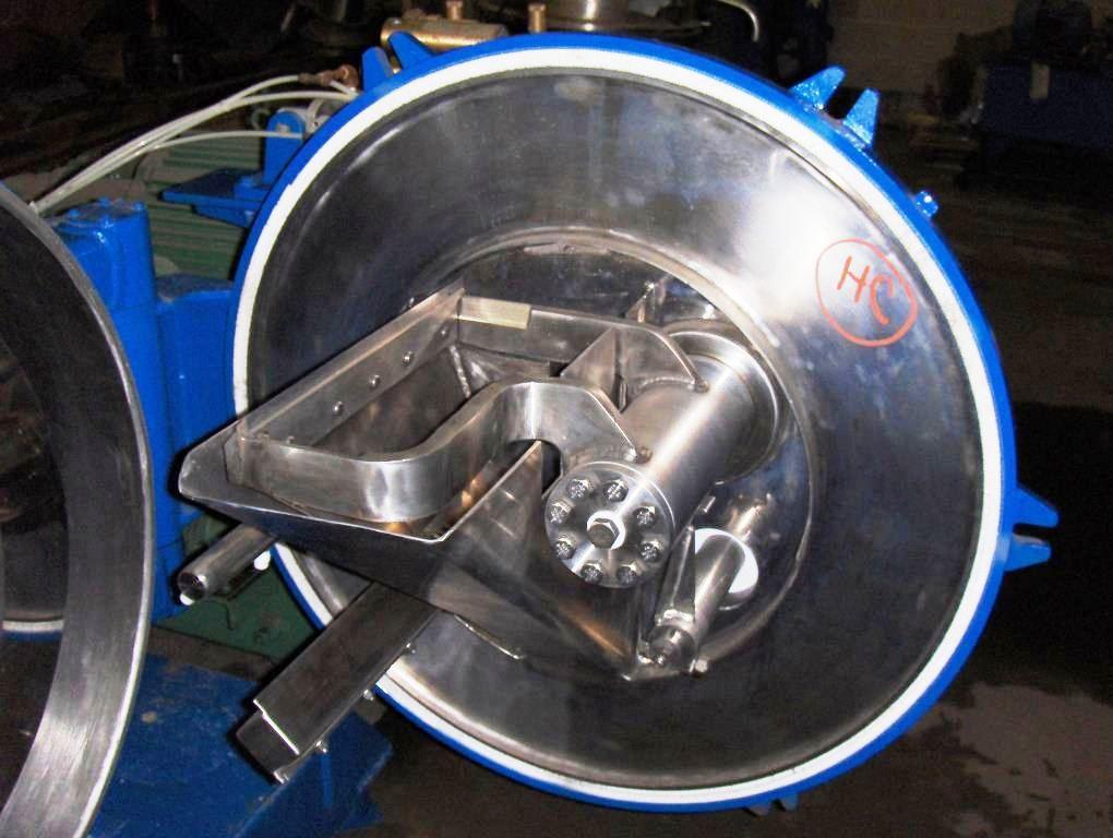 Alfa-Laval Hozhy-650 peeler centrifuge, Hastelloy C-22.