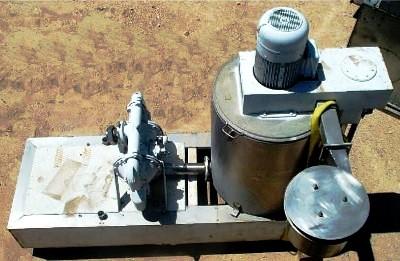 Mutschink R67-86 3-stage centrifuge, SS.