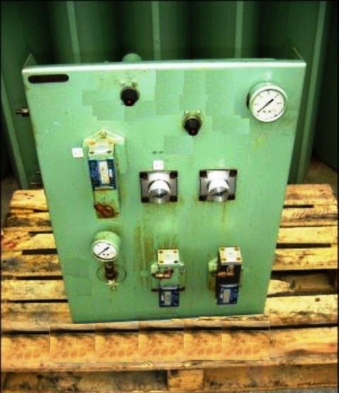 Krauss-Maffei VZO 125/2.5 perforate basket centrifuge, 316SS.