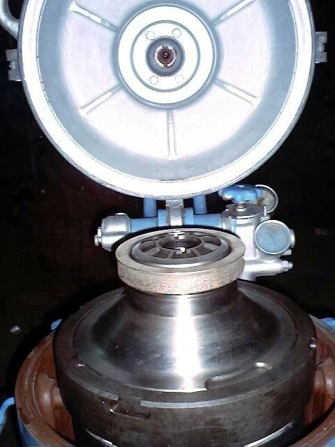 (3) Alfa-Laval MAB 204-24S-60 oil purifiers, SS.