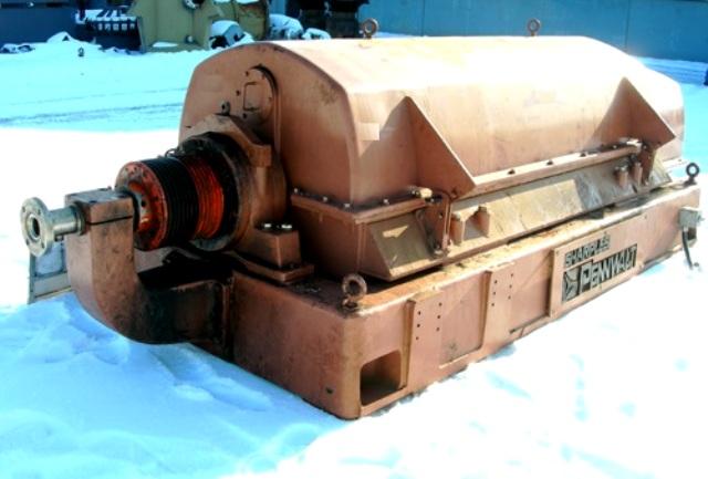 Sharples PM-75,000 Super-D-Canter centrifuge, 316SS.