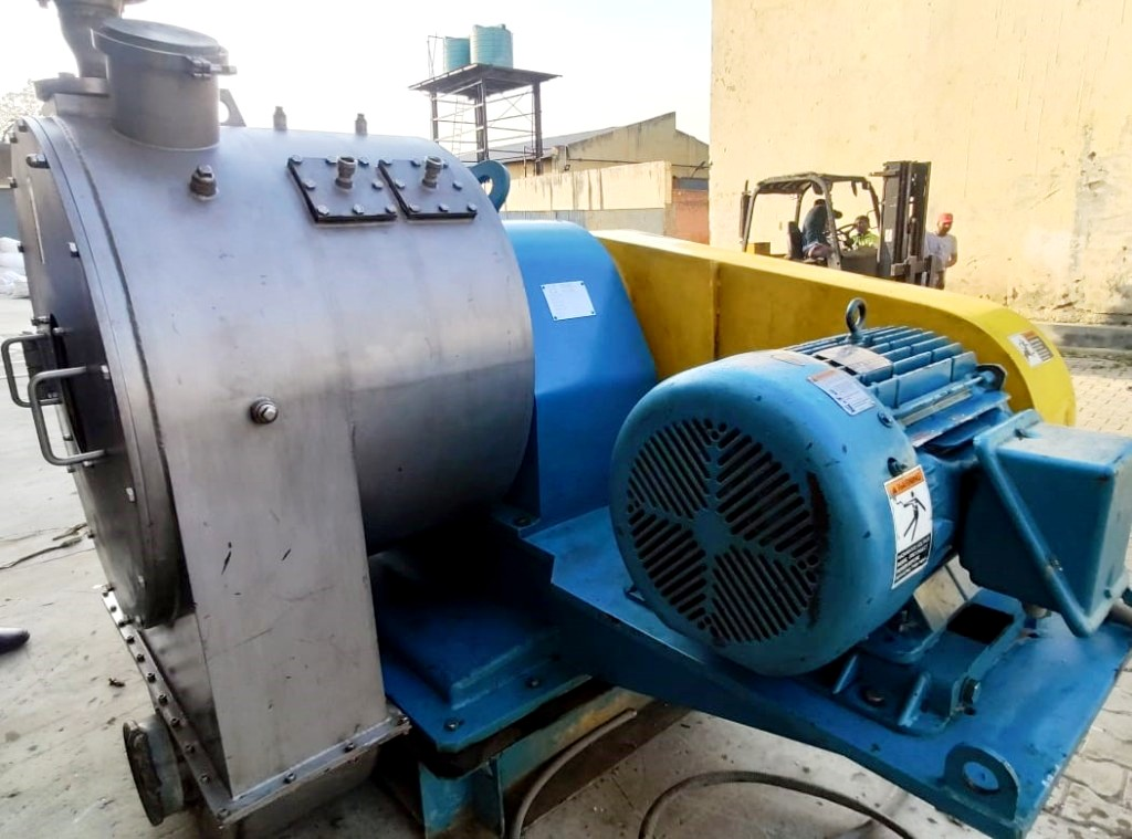Siebtechnik H-520 Conturbex worm/screen centrifuge, SS