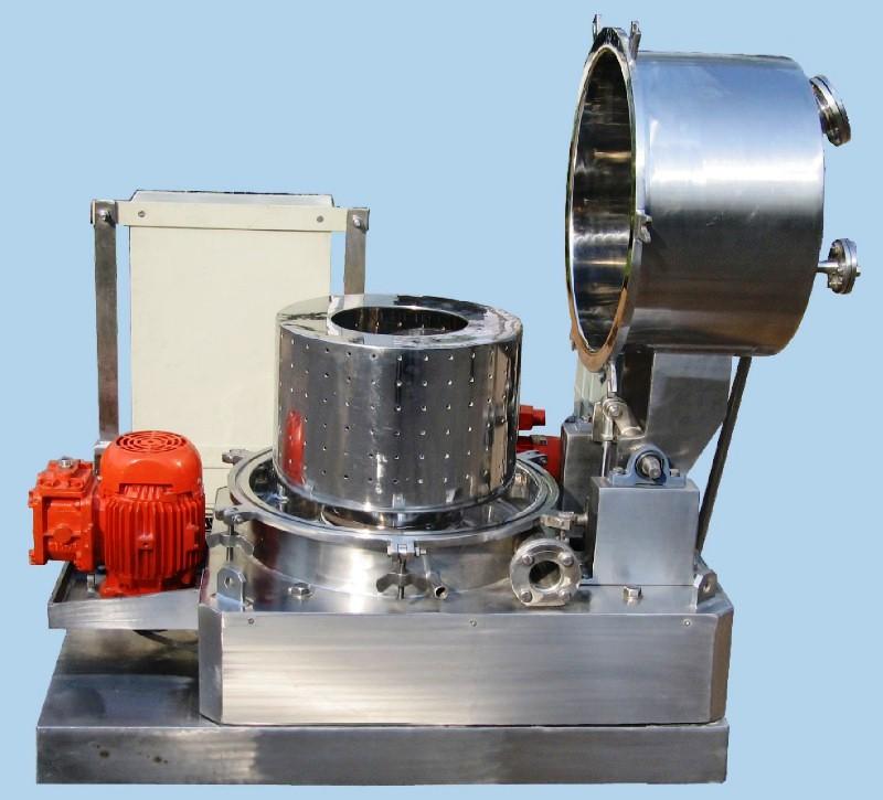 """NEW: ACME 18"""" x 10"""" perforate basket centrifuge, Hastelloy."""