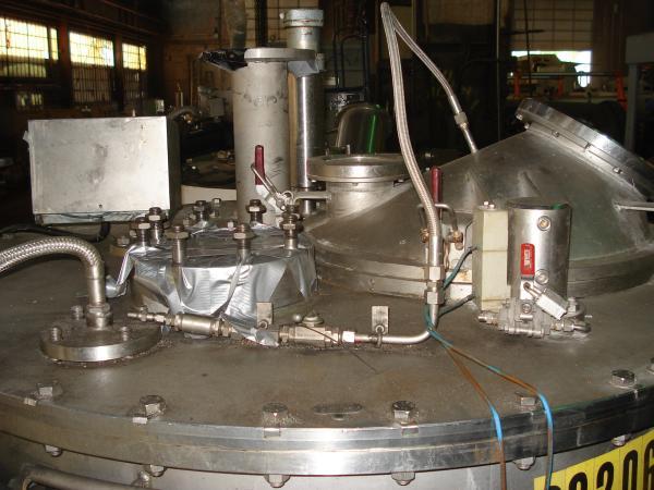 Krauss-Maffei VZO 125/3.2C perforate basket centrifuge, 316SS.
