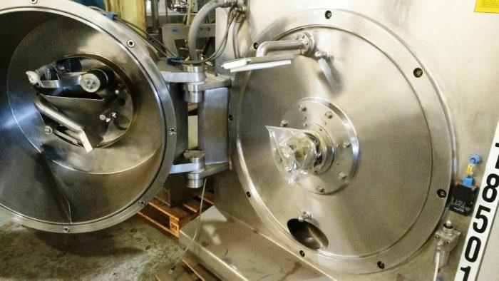 Comi-Condor HX/GMP 630/250 peeler centrifuge, Hastelloy C22.