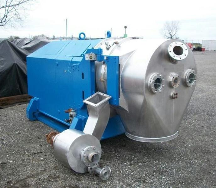 Heinkel HF 800 Inverting Filter centrifuge, 316SS.