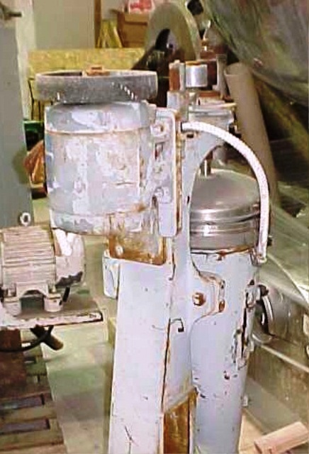 Sharples AS-16V Vaportite Super centrifuge, 316 SS.
