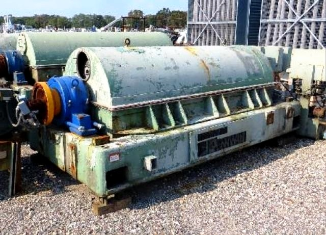 (5) Sharples PM-70,000 Super-D-Canter centrifuges, SS.