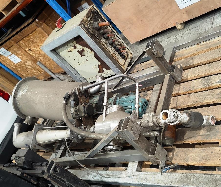 (3) Alfa-Laval BRPX 617 SFV-34C clarifiers, 316SS.