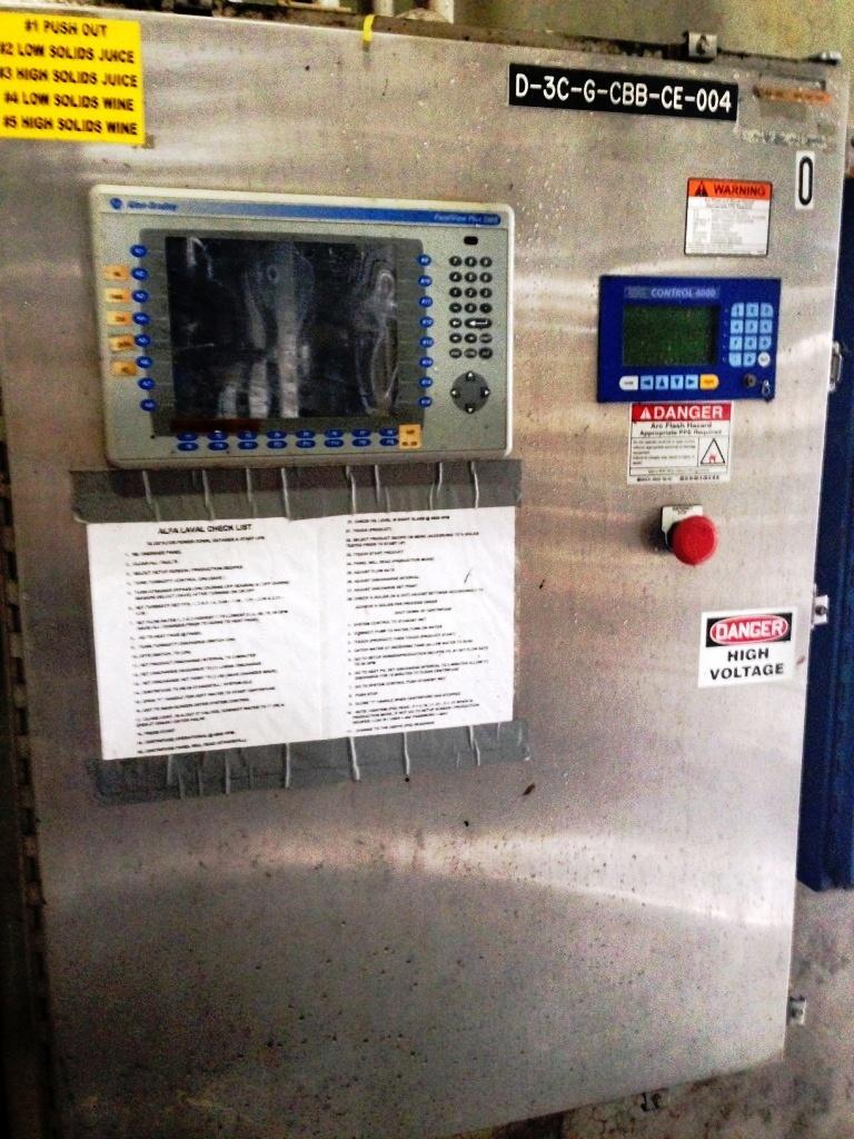 (2) Alfa-Laval BRPX 717 SFV-31CGL clarifiers, 316SS.