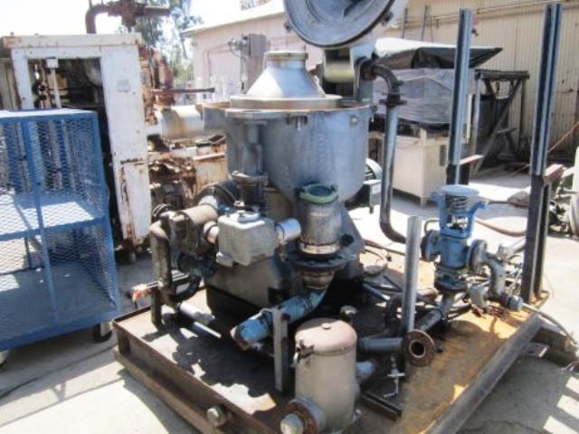 Westfalia OSA 35-02-066 oil purifier, SS.
