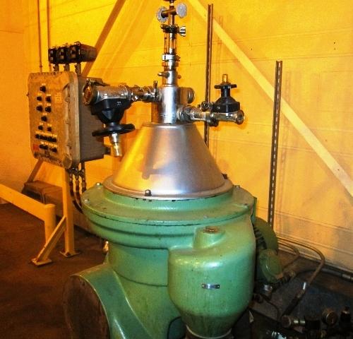 Westfalia WSC 25-01-506 XP separator, SS.