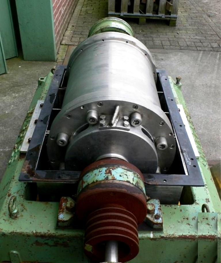 Sharples P2000 sanitary decanter centrifuge, 316SS.