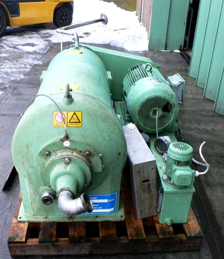 Westfalia CA 365-03-00 tricanter centrifuge, 316SS.