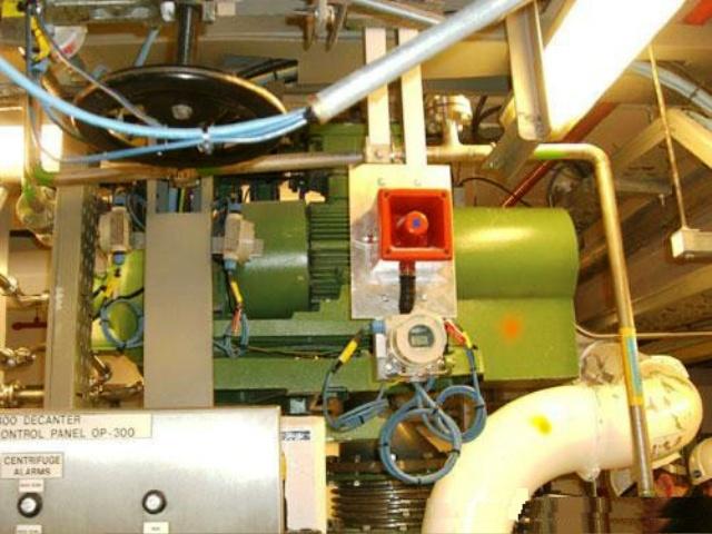 Westfalia CA 221-21-00 decanter centrifuge, SS.