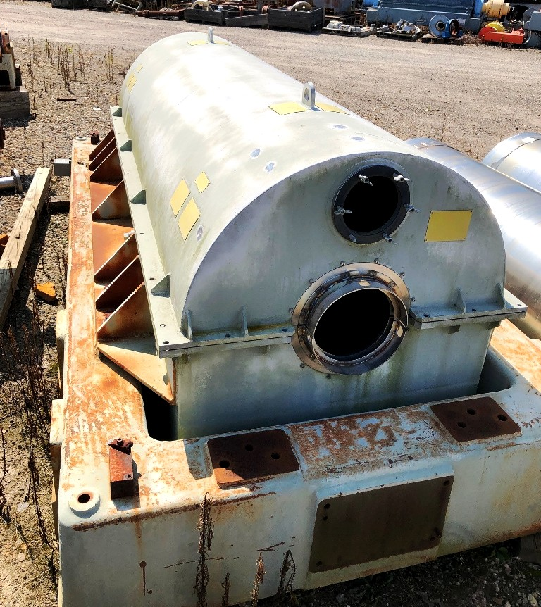 UNUSED: Sharples PM-70,000 base and casings, SS.