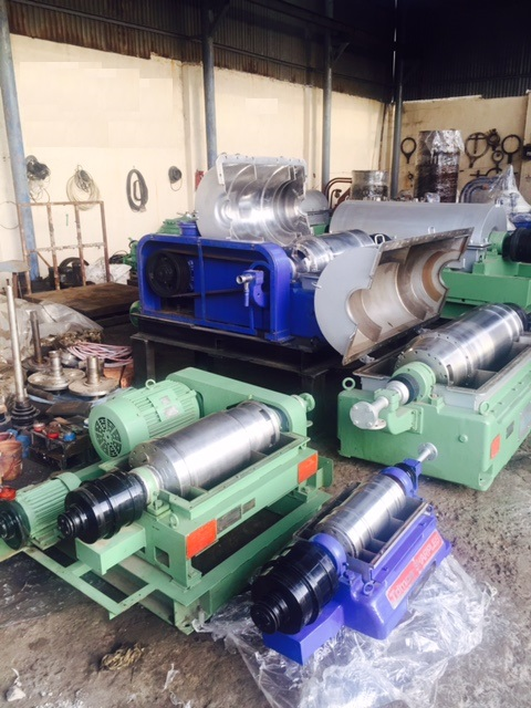 Sharples P3000 Super-D-Canter centrifuge, 316SS.