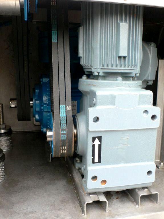 FIMA TZT 400 Inverting Filter centrifuges, Hastelloy.