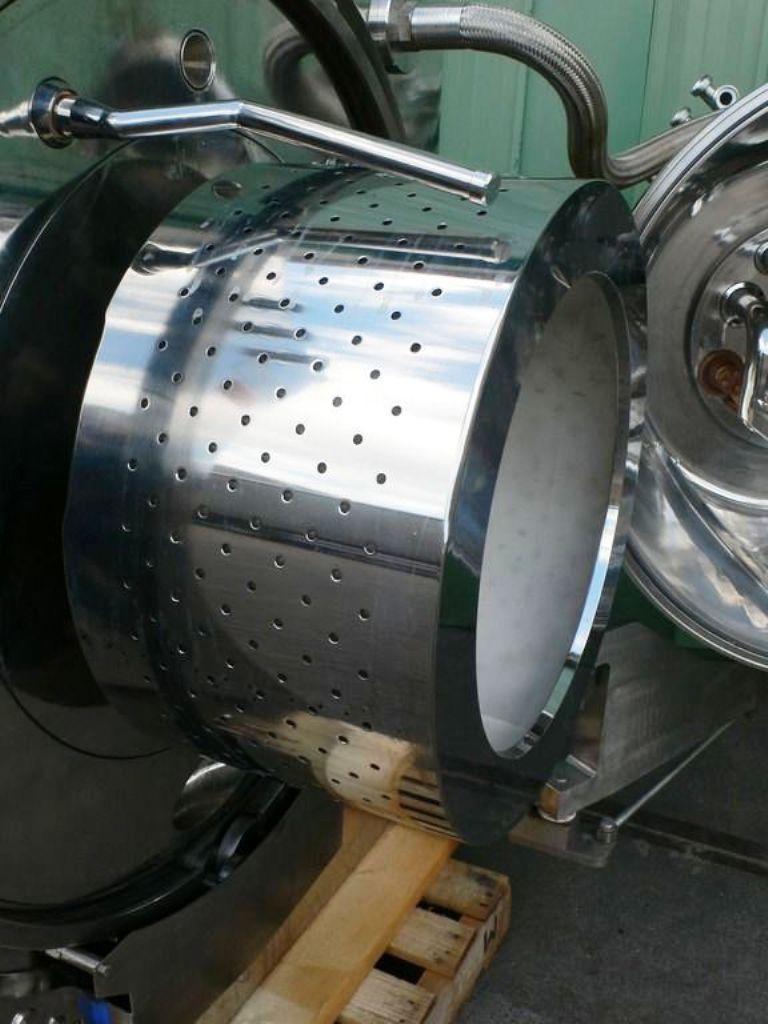 Krauss-Maffei HZ 630 PH peeler centrifuge, Hastelloy C22.