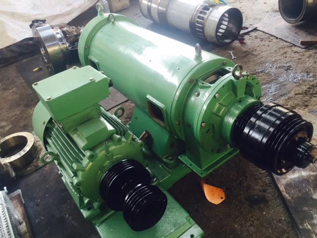 Westfalia CA 366-29-00 extraction decanter, 316SS.