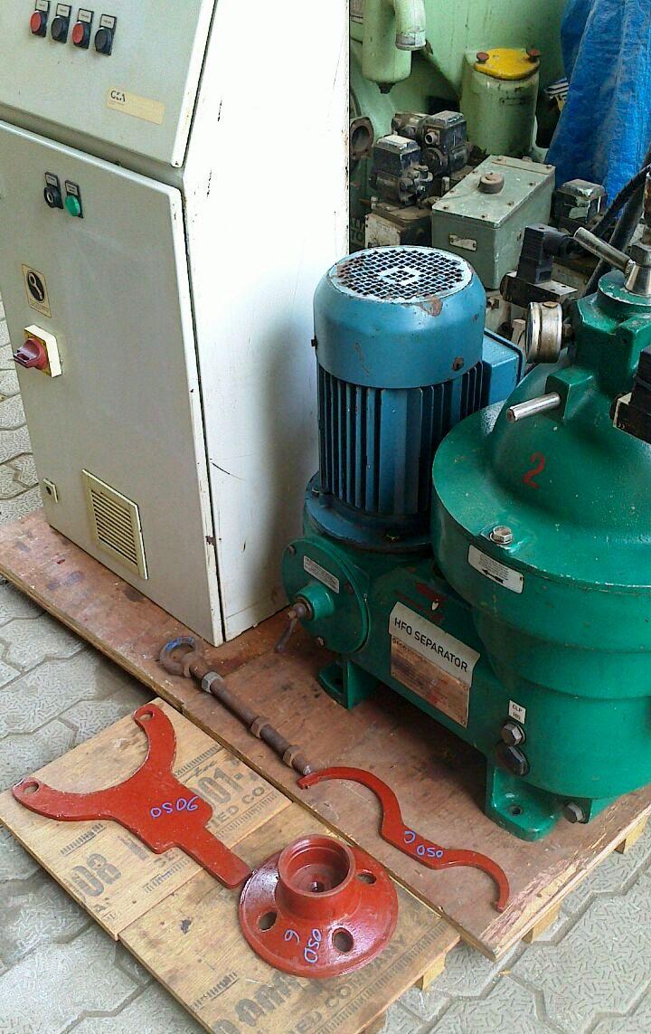 Westfalia OSD 6-0136-067/6 fuel oil purifier, SS.