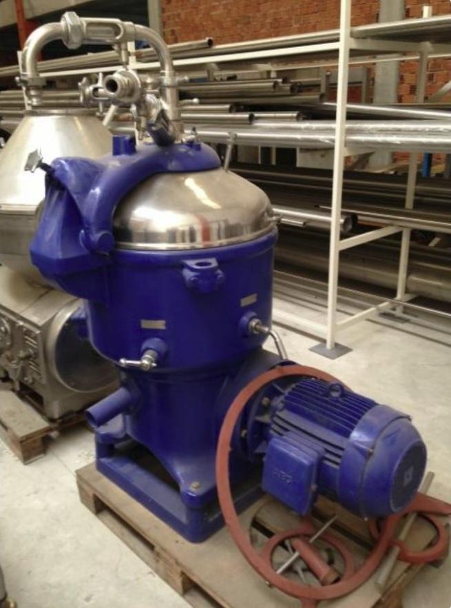 Westfalia KO 15006 centrifuge, 316SS.