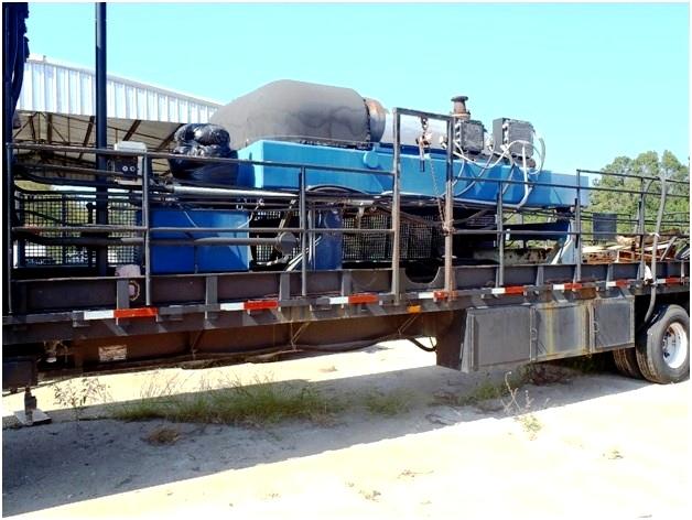 Flottweg Z62-3/441 (24 x 72) trailer-mounted tricanter centrifuge, 316L SS.